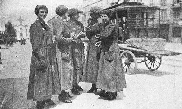 La Prima Guerra Mondiale Il Fronte Interno E La Questione Femminile