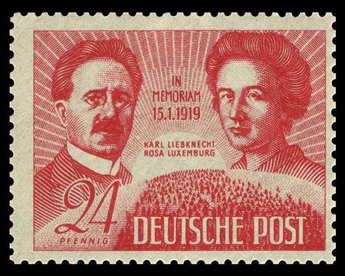 FOTO 1. Luxemburg e Liebknecht,