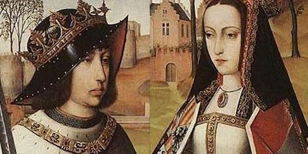 31. Foto 1 Ferdinando d'Aragona e Isabella di Castiglia 600x300