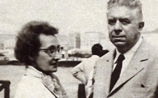 31. FOTO 1.montale e la moglie drusilla tanzi
