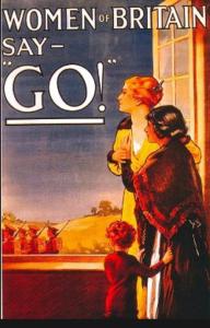 Figura 4 Women of Britain say Go