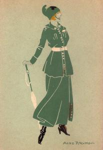 Figura 7 Donna soldato