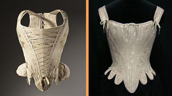 Foto 2. antichi corsetti
