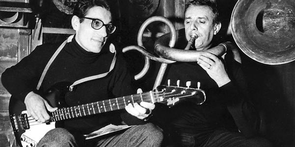 4.Enzo Jannacci e Dario Fo, 1968