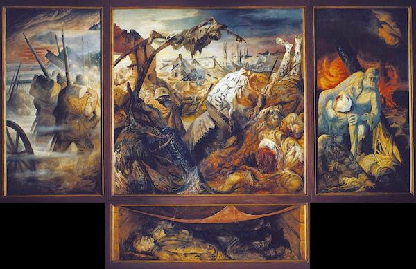 8-Otto Dix-trittico-sulla-guerra