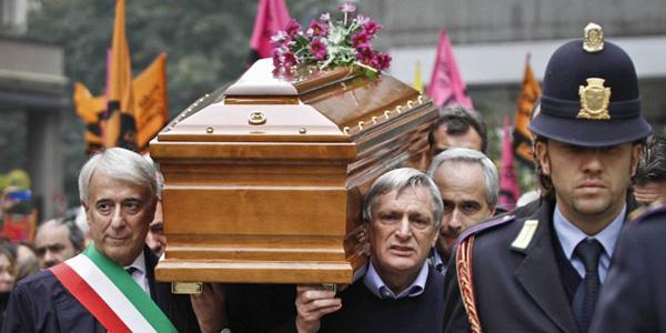 FOTO 2. I funerali di Lea