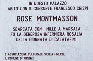 FOTO 2.Montmasson e Crispi a Firenze