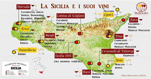 Foto 6. Carta dei vini siciliani