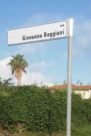FOTO. Via Giovanna Reggiani