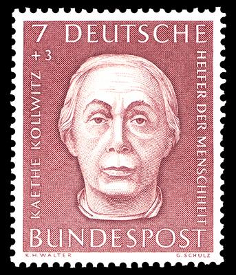Francobollo tedesco del 1991, della serie Donne della storia tedesca