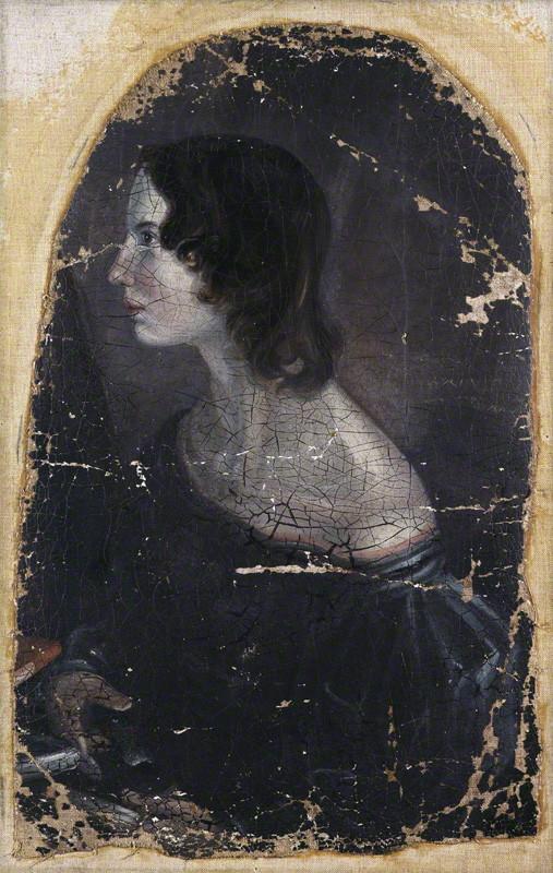 NPG 1724; Emily BrontÎ by Patrick Branwell BrontÎ