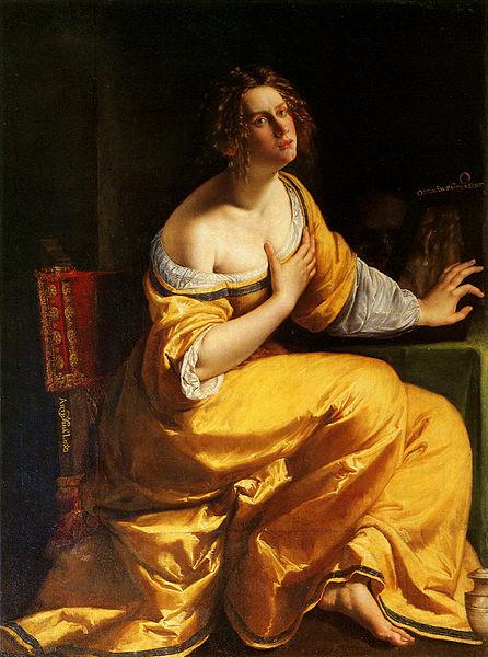 4. Conversione della Maddalena (1615-1616) nella Galleria Palatina di Palazzo Pitti