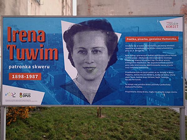 Foto 4. Irena Tuwim scheda informativa Lodz.600x450