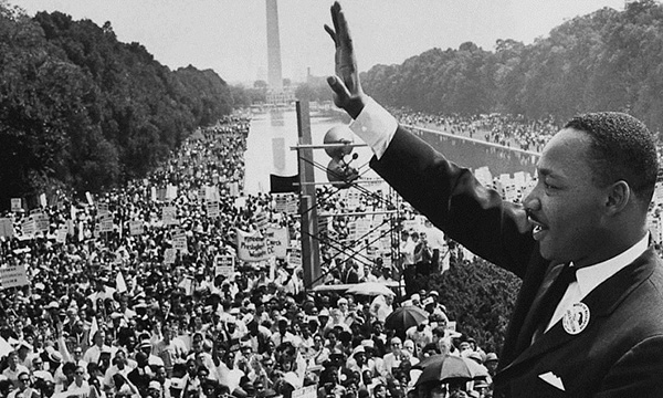 Foto 7.Martin Luther King pronuncia I have a dream