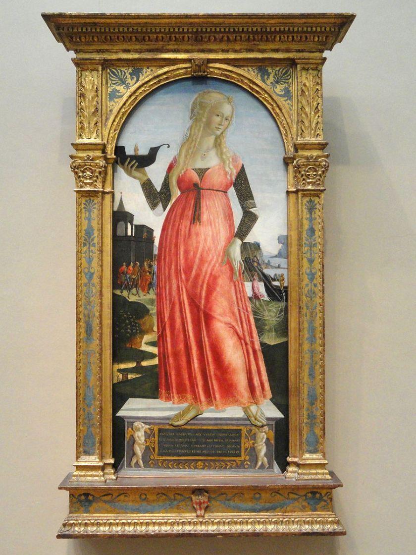 Neroccio di Bartolomeo de' Landi, Claudia_Quinta_