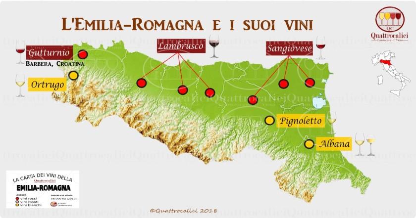 1. I vini dell'emilia-romagna