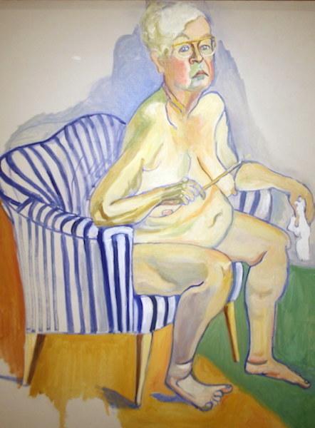 Fig.10- Autoritratto,Alice Neel
