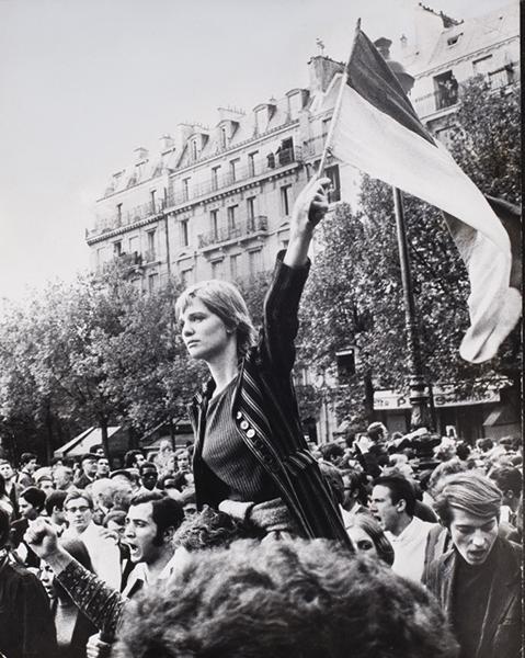 FOTO 1.Parigi, 1968. La Marianne