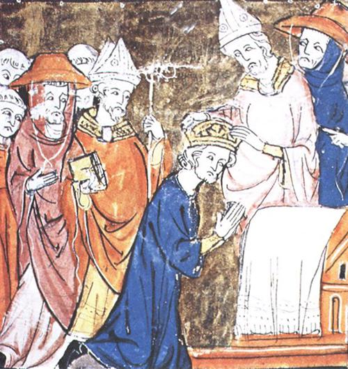 Foto 2. L'incoronazione di Carlo Magno