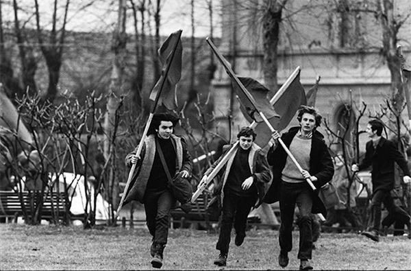 FOTO 5. La battaglia di Valle Giulia, 1968
