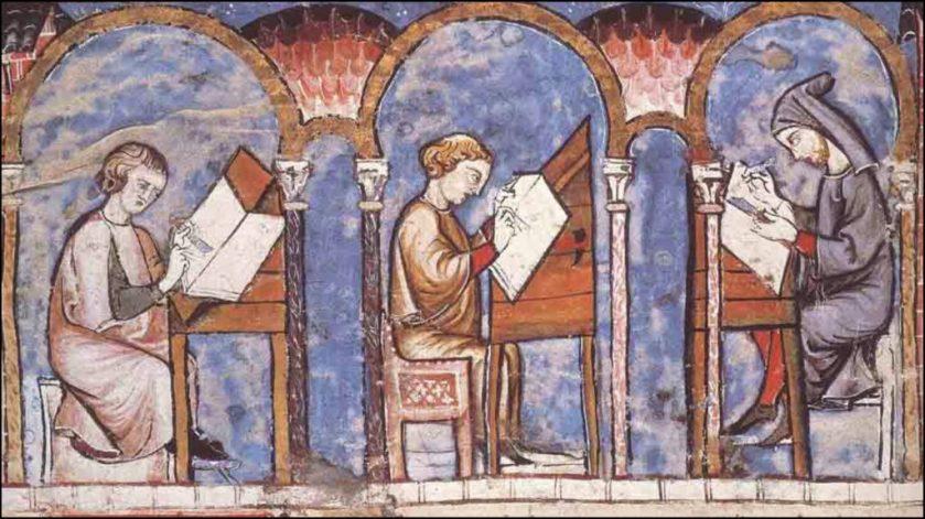 Foto 6. Scuola-Alto-Medioevo