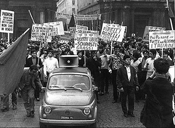 FOTO 8. 1969 Sciopero dei metalmeccanici