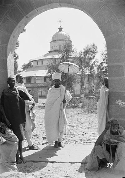 1. Il convento di Debre Libanos nel 1934
