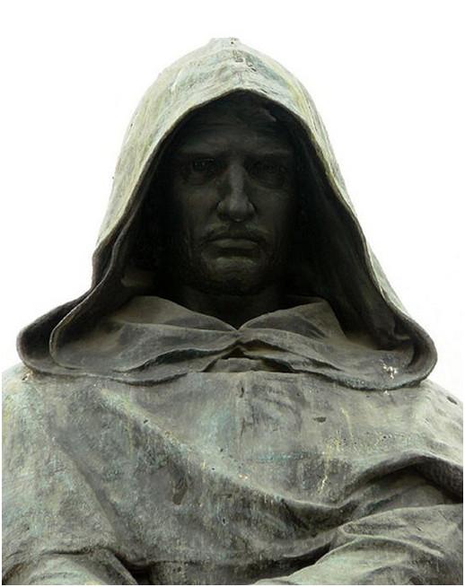 2.Monumento a Giordano Bruno in Campo dei Fiori, a Roma