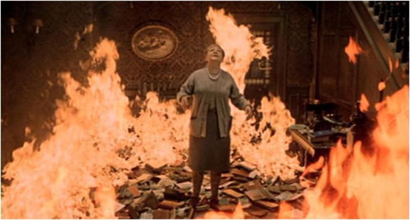 6.Fotogramma dal film Fahrenheit 451, di François Truffaut (1966)
