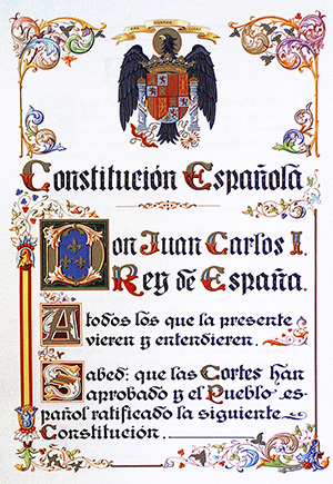 Foto. Constitución_Española_de_1978