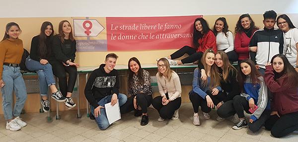 FOTO. Il Liceo Maffeo Vegio incontra Iaia Pedemonte