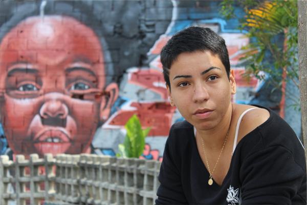 Kari, artista del collettivo Groupo Opni