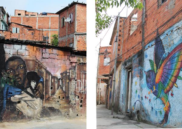 murales su favela