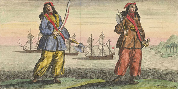 4. Anne Bonny e Mary Read