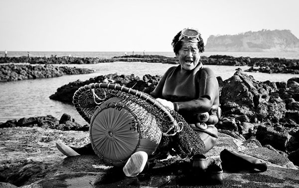 9. Pescatrice Haenyeo
