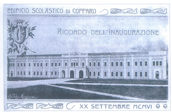 Ferrara, cartolina da collezione privata