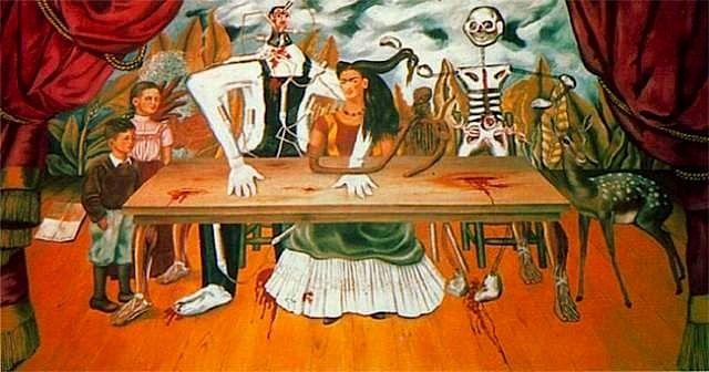Frida Kahlo. La mesa herida