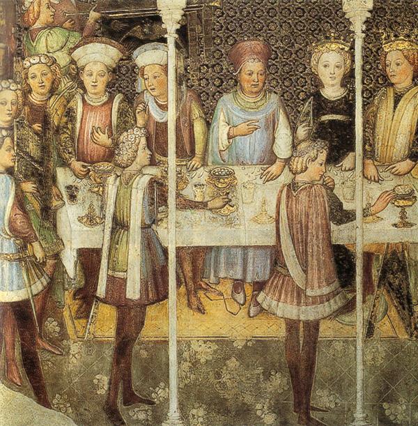Zavattari che, nel Duomo di Monza, raffigurarono le nozze della regina Teodolinda