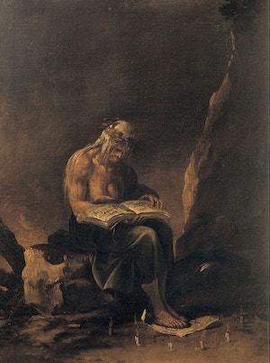 08. Salvator Rosa La strega, Musei Capitolini