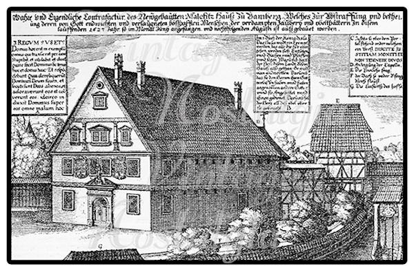 Malefiz House of the Catholic Inquisition in Bamberg