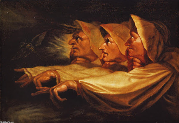 Foto 12 Dipinto Three Weired Sisters from Macbeth di Henry Fuseli presso il British Museum