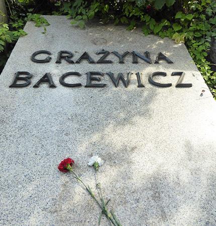 La sua tomba. Powazki Cimitero militare