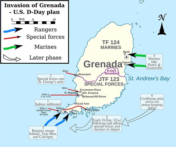 L'invasione di Grenada