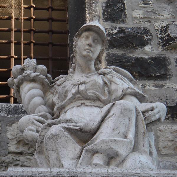 3. Allegoria.Fontana. particolare 2