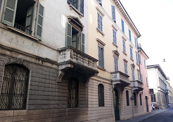 3. Brescia Via delle grazie1. Speziali