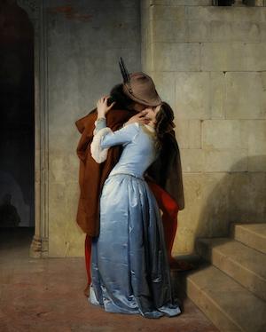 Foto1 Il bacio.(Pinacoteca_de_BreFoto 2. ra,_Milán,_1859)
