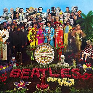 Foto6.La copertina di Sgt. Pepper's Lonely Hearts Club Bandsgtpepper