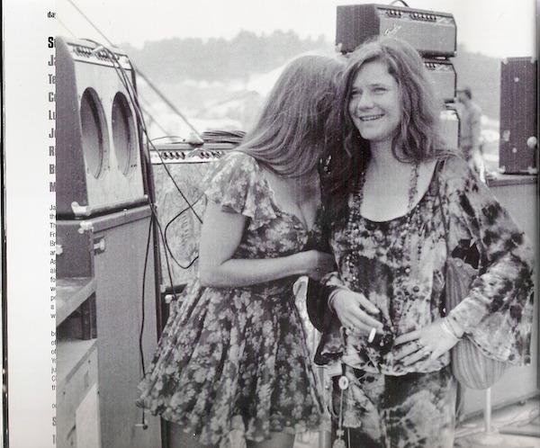 ragazze a Woodstock, 1969