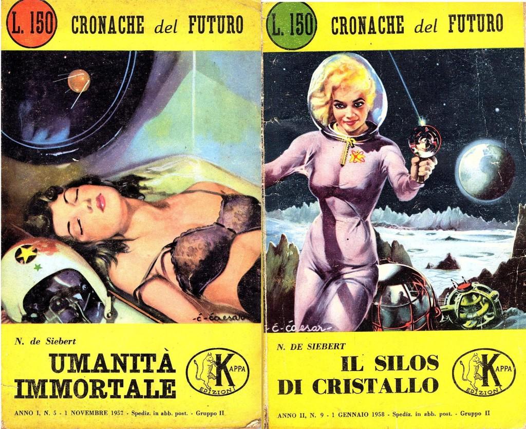 copertine romanzi fantascienza nora de siebert